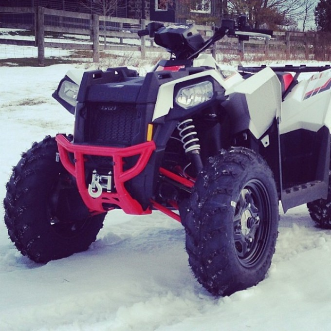 One year ago… #scrambler850 #polaris #swampdonkeys