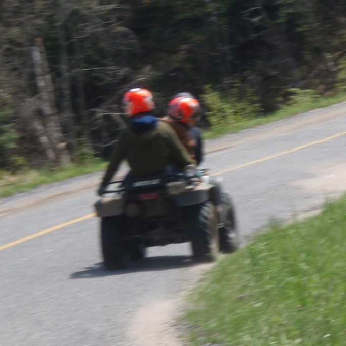 #tbt #swampdonkeys totally stock Torque Monster with three passengers.