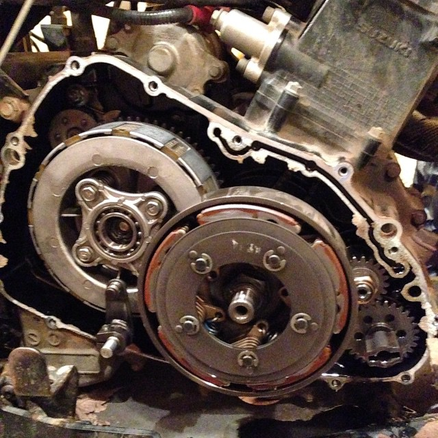 Clutch kit coming right up. #epi #swampdonkeys
