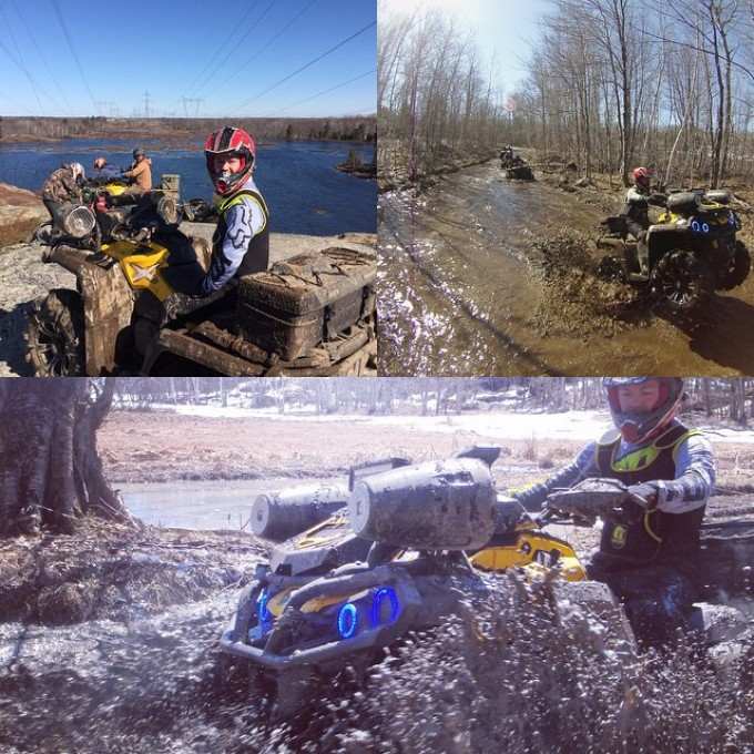 Off Road Weekend Mashup #SwampDonkeys #xmr #canam #canada #muskoka
