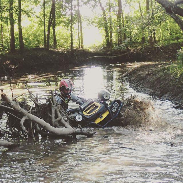 #xmr digging thru @webez9 ruts #SwampDonkeys