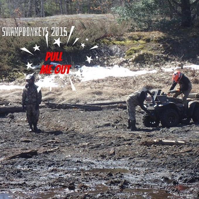 @timmerlegrand using his new quad #SwampDonkeys Road Club: @webez9 @tomdrich @chriscross4653 @timmerlegrand @smithjaret @adam.stanley549