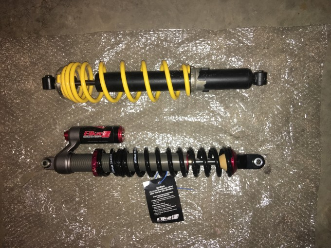 Replacing Can-Am Front Shocks with ELKA's
