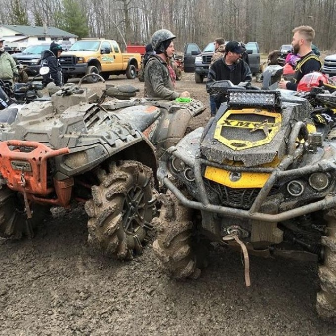 #Polaris #Sportsman #Highlifter #1000 vs #Team #Canam #XMR #800 #Swampdonkeys #GLATV @sawmiller07