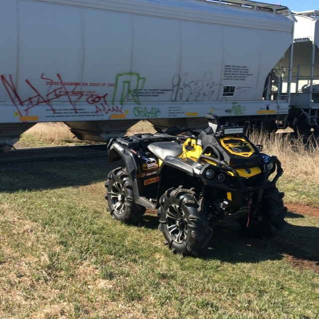 #train #canam #xmr #swampdonkeys