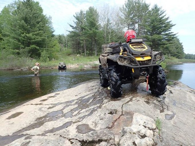 #XMR #800 #Outlander Poser shot on the #Magnetawan #River in #Ardbeg #swampdonkeys