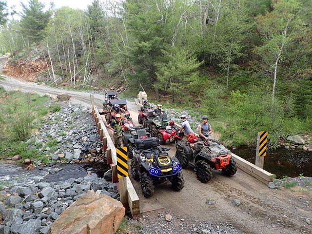 group shot from our ride in #Ardbeg  #swampdonkeys