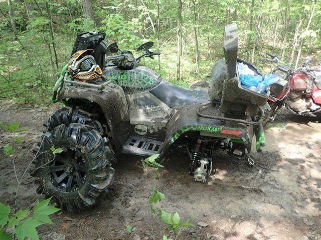 #swampdonkeys #broken #arcticcat #WheelFellOff