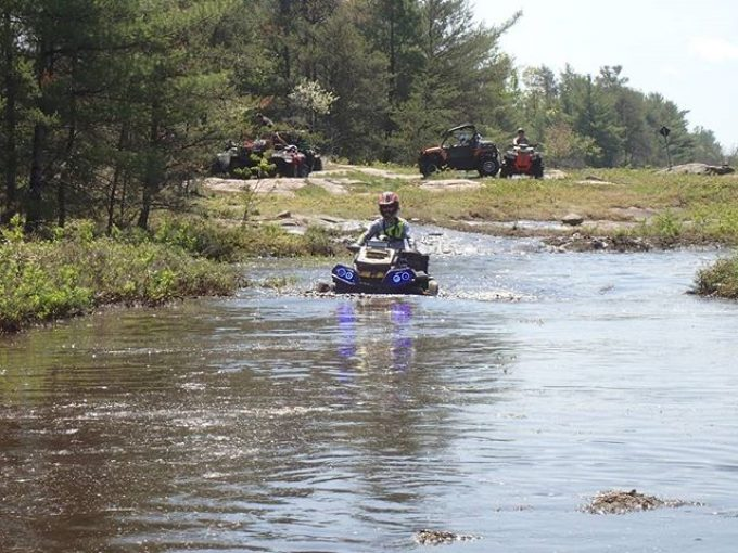 Trail Scouting in #Ardbeg #CanAm #Outlander #XMR #800 #swampdonkeys