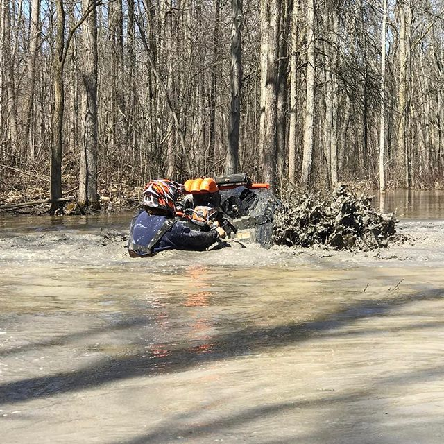 @sawmiller07 going deep #highlifter #1000 #swampdonkeys