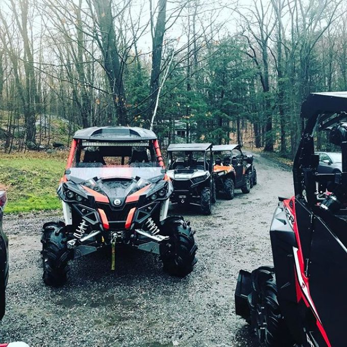 #maverickxmr nailed the #mud #water and #trails this #offroadweekend with the #swampdonkeys – hauled a #polaris #rzr home