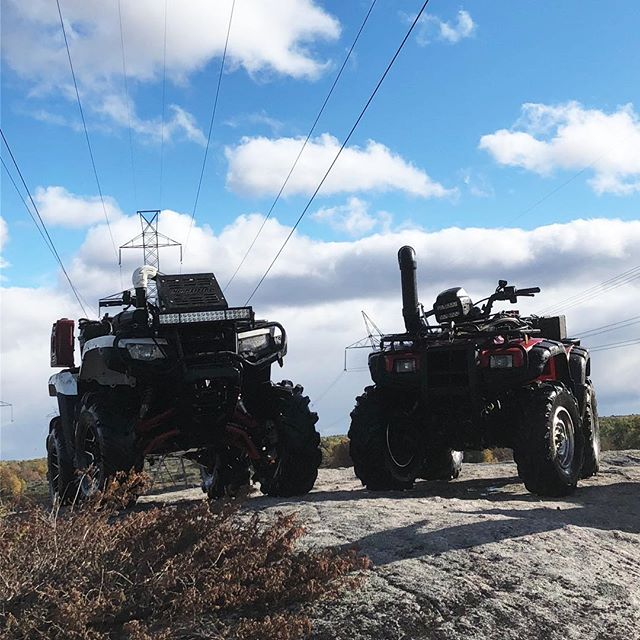 #honda. Only machines not to break on #SwampDonkeys off-road weekend.